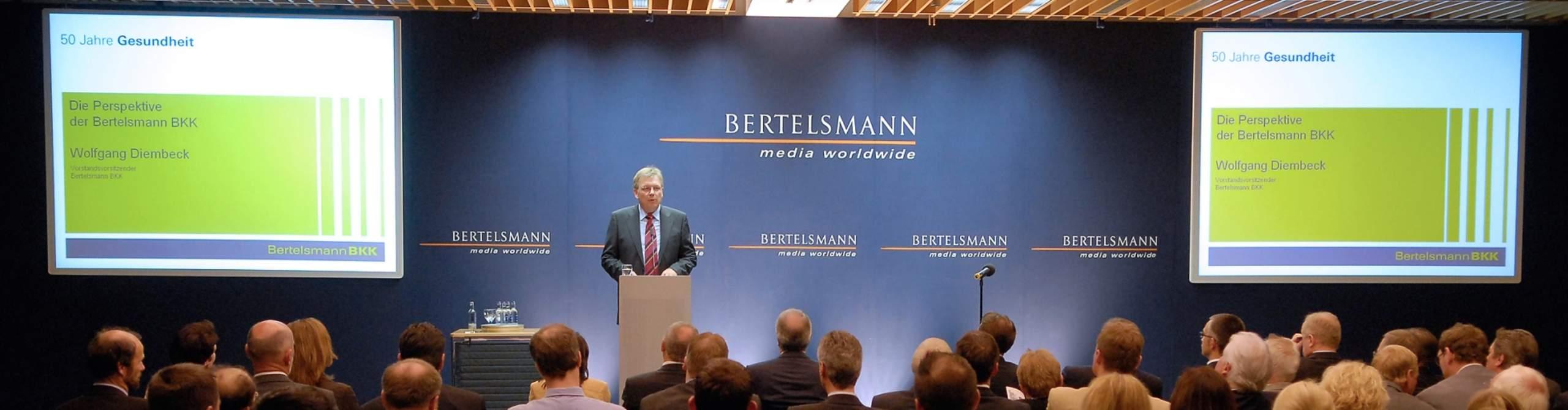 Historie Bertelsmann Bkk