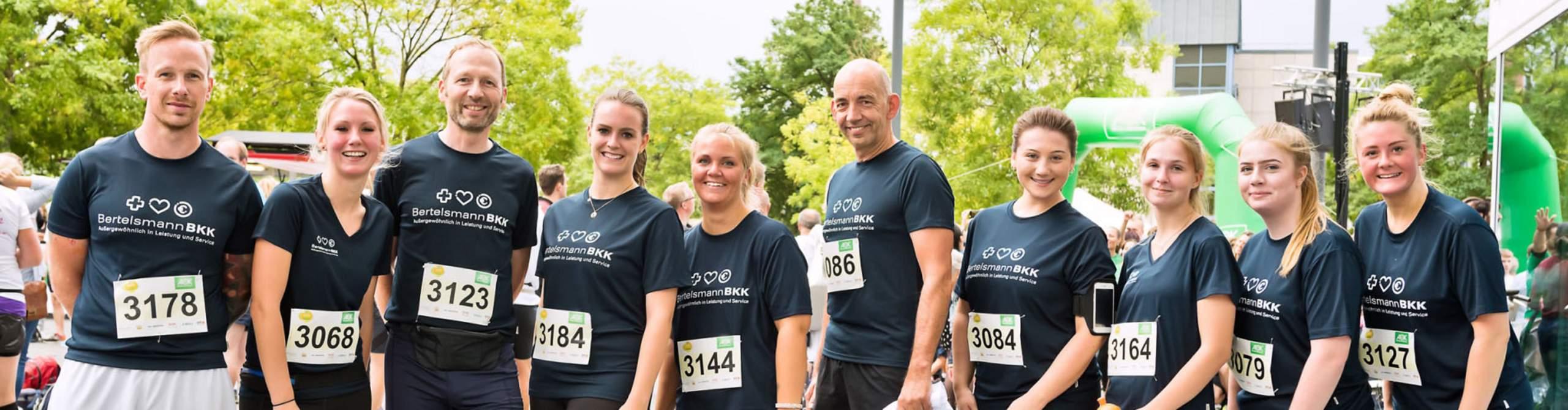 BKK-Laufteam, Foto: Steffen Krinke für Bertelsmann Sport und Gesundheit