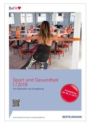 Bertelsmann Sport- und Gesundheitsprogramm Frühjahr-Sommer 2018