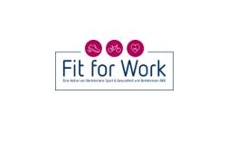 """Logo der Kampagne """"Fit for Work"""""""
